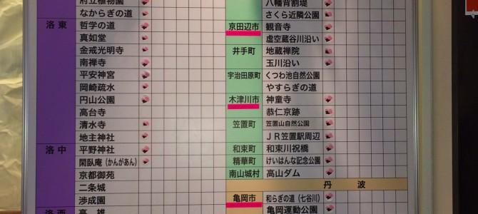 京都さくら開花状況2015.3.23