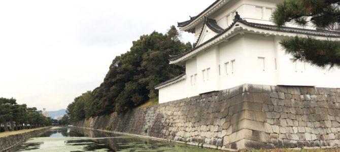 『京都おさんぽ#74』師走の二条城にて。