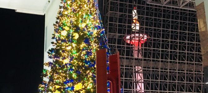 『イベント紹介★2018年12月』高さ22m!の巨大ツリーを始め駅各所でX'masイルミネーションを楽しめます!!