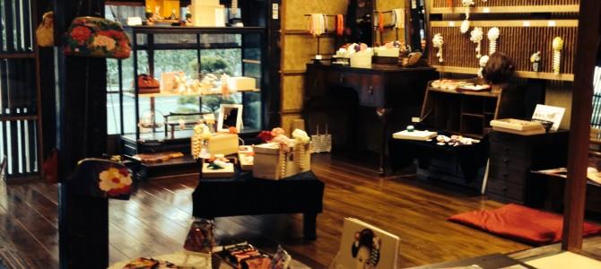 『京都おさんぽ#4』こだわり簪(Kanzashi)の素敵なお店。大徳寺さん横で見つけました。