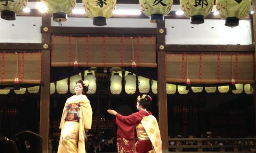 『京都おさんぽ#11』夜の東山に咲く色とりどりの花