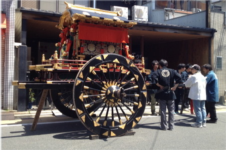『京都おさんぽ#18』思いがけない出会い・・・近くで牛?【還幸祭】