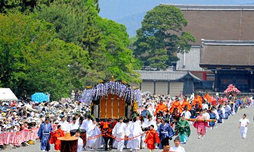 京都三大祭の一 葵祭 2014.5.15
