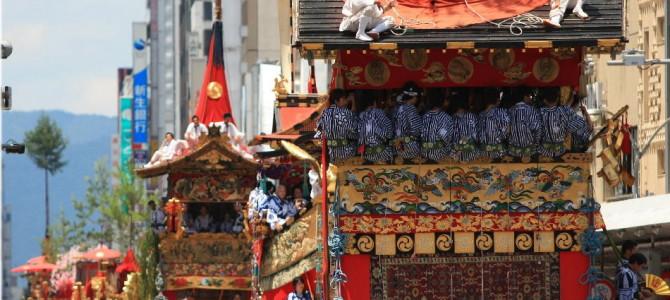 祇園祭の7月!今年は半世紀振りの復活行事もあります!
