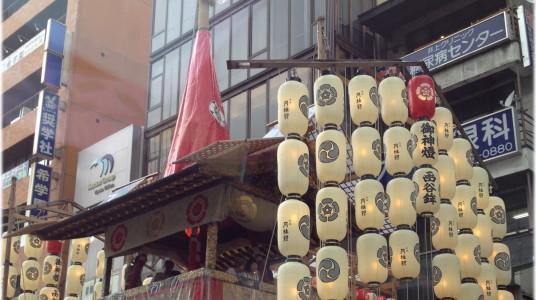 『京都おさんぽ#26』祇園祭2014~山鉾巡行を前に、通りに並ぶ鉾・鉾・鉾!